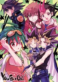 Yuma Tsukumo Deck Manga by Yugioh Yuya Yuma Yusei Jaden Yugi Atem Yusei Baby
