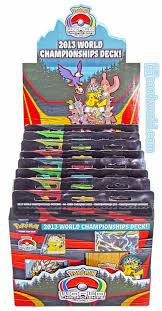 Pokemon World Championship Decks 2015 by Pokemon 2013 World Championship Deck Box Da Card World