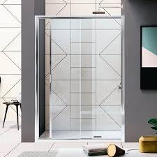 glas duschkabine rapid inda rechteckig schiebetüren