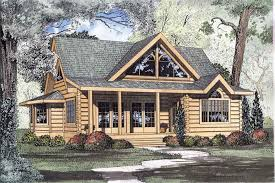 2 Bedroom Cabin Plans Colors Log Home Plans House Plan 153 1216