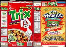 Trix Cereal Free Life Savers Super Holes Candy Box 1995 Collectingcandycom