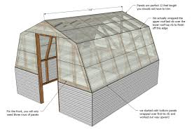12x12 Gambrel Shed Plans by Ana White Barn Greenhouse Diy Projects