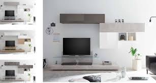 wohnwand infinity 6 tlg mit tv podest