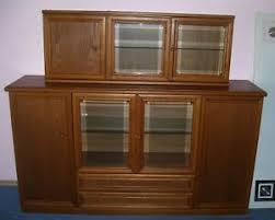 details zu schwere esszimmermöbel esstisch vitrine sideboard hängeschrank aus nachlass