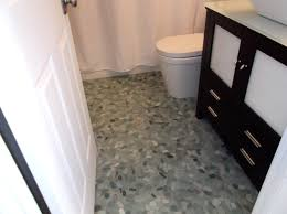 The Tile Shop Rockville by Pebble Stone Tile Flooring With 69 Diy River Rock Hand Laid Floor
