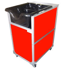 Mobile Self Contained Portable Electric Sink by Monsam Sinks