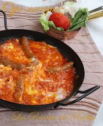 cuisine tunisienn ojja merguez cuisine tunisienne