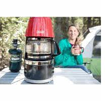 Coleman 10 Cup Portable Propane Coffee Maker With Glass Carafe