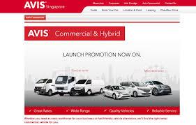 100 Avis Truck Sales Adds Vans Hybrids To Singapore Fleet Rental Operations