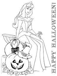 Free Printable Princess Aurora Coloring Pages Disney Belle Halloween Colouring