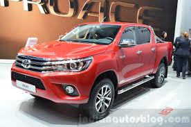 100 Toyota Hilux Truck 2016 Pickup Launches In France