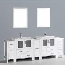 White Bathroom Wall Cabinets With Glass Doors by Bathroom Design Ideas Bathroom High Rectangle Curved Bathroom