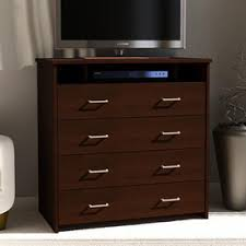 Sauder Beginnings 4 Drawer Dresser Cinnamon Cherry by Shop Dressers At Lowes Com