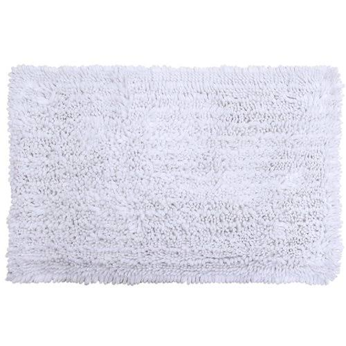 Nicole Miller Radiance 2-Piece Bath Mat Set, White, 2x3