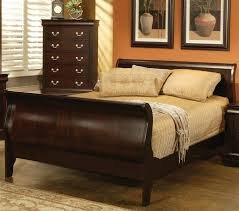 louis philippe 6 piece bedroom set in rich cappuccino finish by