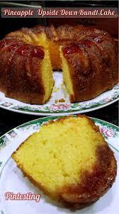 Pintesting Pineapple Upside Down Bundt Cake