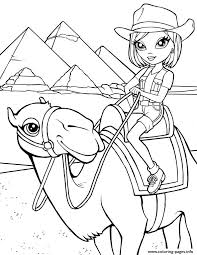 Sweet Lisa Frank Camel Pyramid Egypt Coloring Pages Print Download