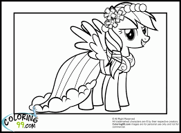 Rainbow Dash Coloring Pages That You Can Print Out Color My Little Pony