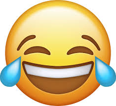 Emoji Laughing Png Banner Black And White Download