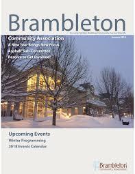 100 Condo Newsletter Ideas January 2018 By Brambleton Community Association Issuu