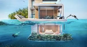 appartement avec une chambre des appartements flottants spectaculaires avec chambres sous marines