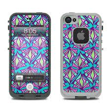 Lifeproof iPhone 5 Case Skin Fly Away Teal by Carol Van Zandt