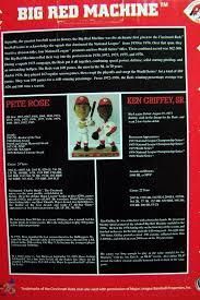 Pete Rose Ken Griffey Bobblehead Kroger Big Red Machine 25 Year