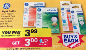 rite aid free ge light bulbs with new printable coupon starts 2 2
