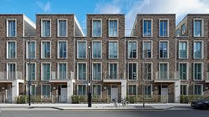 100 Townhouse Facades GHA Project Royal Wharf S