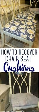 How To Recover Chair Seat Cushions - Rebooted Mom Diy Update Ding Chair Makeover The Bee In My Bonnet Whatever Wednesday Chairs Keeping It Simple How To Transform Ugly Tpierce1 Striped Ding Why You Should Never Buy From A Store Again Baby Kids Chic Surefit Cover Protector My Ugly Handmade 70s Chair Redo Crafts Howto Details About Us Stretch Covers Slipcovers Fitting Protective Upholster Family Hdyman Room Cane Redo Hooli Upholstered Before This Old And After All By I Used An Wood Table Outside Songbird
