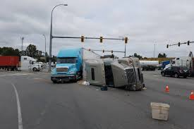 Semi-truck Collision Causes Delays On Highway 91 Connector - Surrey ...