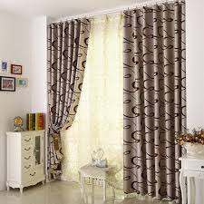 Modern Hotel Blackout Curtains With Casual Lines