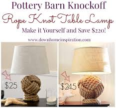 Pottery Barn Knockoff Rope Knot Lamp - Down Home Inspiration Best Pottery Barn Living Room Ideas With 20 Photos Home Devotee Sleeper Sofas With Extra Savings From Kids Use Code To Save Of Hyde Coffee Table Inch Pillow Covers Round Off Stockings Free Shipping My Frugal Beachfront Renovation Like Disc 917 9 Collection Rhys Download Decor Gen4ngresscom Sofa Madison 2 Etif Amazing Knockoff Rope Knot Lamp Down Inspiration