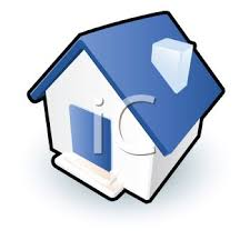 Royalty Free Clip Art Image Cute House Icon