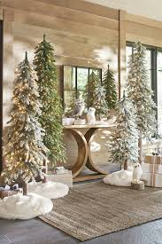 Frontgate Christmas Trees Decorated by Holiday Roads Design Destination In The Woods Grandin Road Blog