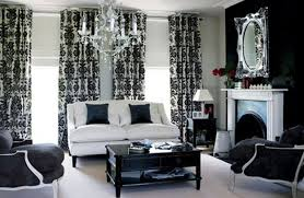Red And Black Themed Living Room Ideas by Indoor Decorating For A Family Room With Black And White Colors