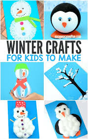 Easy Winter Kids Crafts Fun And For To Make Toddler