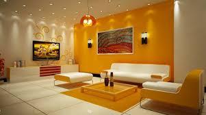 15 Luscious Orange and White Living Rooms
