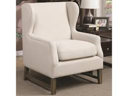 Coaster Accent Seating 902490 Accent Chair With Wing Back Design ... Coaster Fine Fniture 902191 Accent Chair Lowes Canada Seating 902535 Contemporary In Linen Vinyl Black Austins Depot Dark Brown 900234 With Faux Sheepskin Living Room 300173 Aw Redwood Swivel Leopard Pattern Stargate Cinema W Nailhead Trimming 903384 Glam Scroll Armrests Highback Round Wood Feet Chairs 503253 Traditional Cottage Styled 9047 Factory Direct