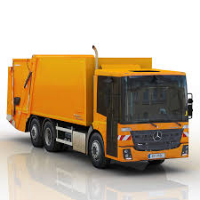 Mercedes Benz Econic 2014 Garbage Truck 3D Model $35 - .obj .fbx ...