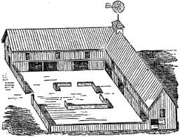 Livestock Loafing Shed Plans by Ihs Typology Barn Types Hayloft Cattle Shed