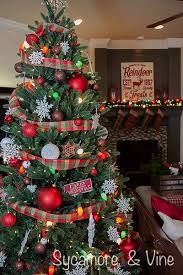 Gorgeous Plaid Country Christmas Tree Great Idea For Decorations