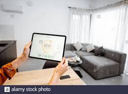 controlling home heizung temperatur mit einem digitalen