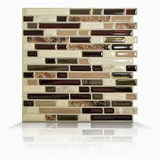 Smart Tiles Peel And Stick by Smart Tiles Bellagio 10 X Keystone Peel Stick Mosaic Tile 10quot