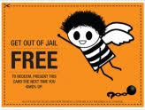 Inspirational Get Out Of Jail Free Card Template Planing