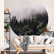a s création fototapete vlies foto tapete wald foggy forest dd119184 baum designwalls 2 0 kaufen otto