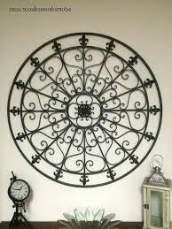 Tuscan Wrought Iron Wall Art With Most Recently Released Arts Metal Fleur De Lis