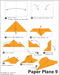 Paper Airplane Origami Plane 9 Easy Instructions For Kids Free