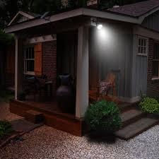 amir solar spotlight outdoor garden wall lights waterproof 180
