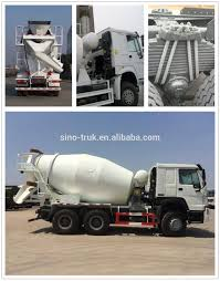 100 Concrete Mixer Truck For Sale Sinotruk Howo 6x4 12 Cubic Meters In